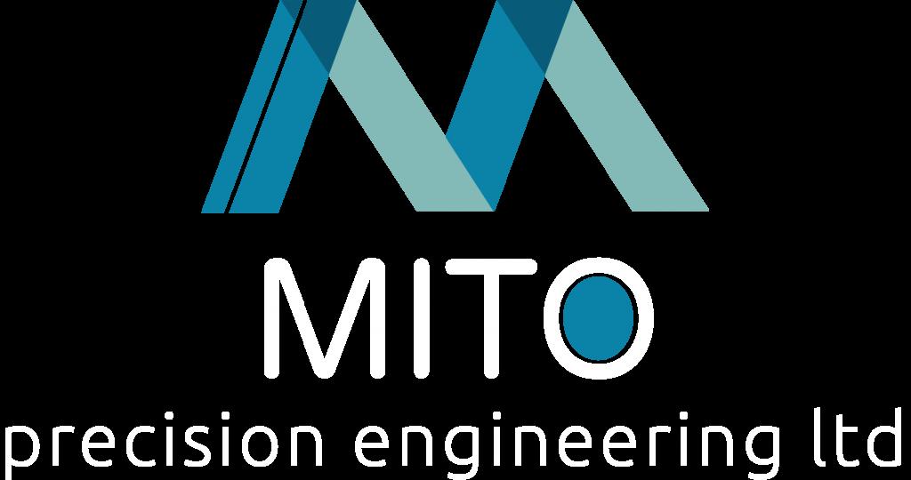 MITO Logo White Text